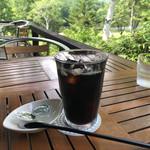 鏡池どんぐりハウス - アイスコーヒー