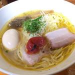 柳麺 多むら - 料理写真:梅塩ラーメン+味玉