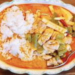 倅 B食 - レッドカレー