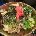 味見鶏まるめん - チャーシュー丼 +310円