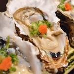 和酒房 山本 - 生牡蠣