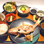 和酒房 山本 - 地魚御膳塩焼き