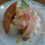 フルーツシェフ - 桃サンド