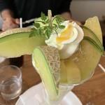 Fruit Chef - 名倉さんのマスクメロンパフェ