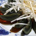 哈爾濱飯店 - 前菜のピータン