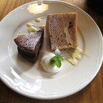 リジェール - ケーキ2種(日替り)