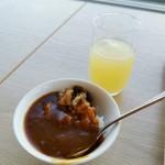 スカイレストラン白馬 - 料理写真:JAL系のカレーは大好き(*>∇<)ノ
