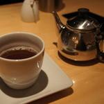 ユウアン - Chefのおすすめコース食後の飲み物「野草三年番茶」