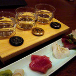 上四十川 舌心 - 日本酒飲み比べセット