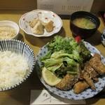 きくち - いわし竜田定食  750円