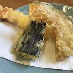 麺房 高松庵 - 暮坪蕎麦、竹の天ぷら
