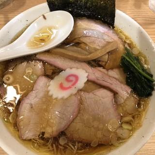 白河手打中華そば 中村 - 料理写真:チャーシュー麺 大盛
