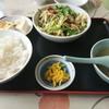 王府 - 料理写真:・ニラブタ定食 850円