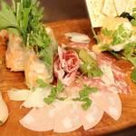 アクアサウスコースト - 料理写真:前菜5種盛♪