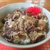 村営白馬岳頂上宿舎 - 料理写真:牛丼
