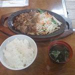 笠間苑 - 焼肉ランチ 500円