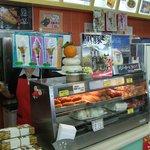 桜島サービスエリア(上り線) スナックコーナー - 文字どおりのスナックコーナーです。