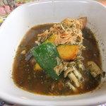 11390573 - 姫鶏のスープカレー ももハーフサイズ 【 2012年1月 】