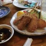 風味亭 - 風味亭の串カツ(11.08)