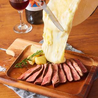 ラクレットチーズランチセット1480円!とろ~りチーズを!