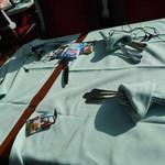 氷河特急(氷河急行,Glacier Express,グレッシャーエクスプレス) - 食事。氷河特急パノラマカー(1等)食彩品館.jp撮影