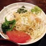 京ホルモン蔵 - サラダ。