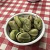 イマナカ酒店 - 料理写真:そら豆綺麗に炊けてる‹‹\( ´ω`)/››~♪