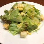 ムッシュふらいぱん - ランチのサラダ
