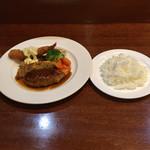 ムッシュふらいぱん - 日替りランチ  ¥1200 サラダ ドリンク付き