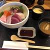 漁火 - 料理写真:海鮮丼上 1,200円