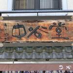 中谷堂 - 看板