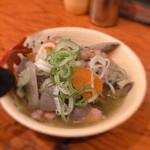 鳥菊 - もつ煮 200円