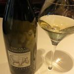 リストランテ カノビアーノ - グラスワイン白