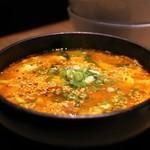 焼肉レストラン ロインズ - ユッケジャンスープ