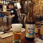 うりずん - オリオン瓶ビールに変更