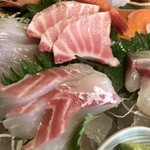 地魚料理 まるさん屋 - 刺身ズーム