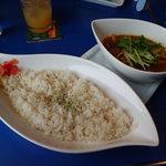 スパイスカフェ チャツネ - 野菜カレーライス大盛