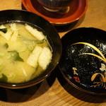 ユメキチワイン - 味噌汁