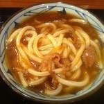 丸亀製麺 - カレーうどん 480円
