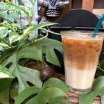 113920487 - アイスカフェオレ 珈琲もミルクもとっても美味しいんです!