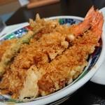 asakusatempuraaoimarushin - 天丼(1,800円)