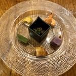 Chuugokukyoudoryourikinri - 前菜六種盛合せ