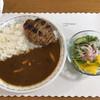 カレーショップ サリー - 料理写真:ハンバーグときのこ〜+ラッシー=1100円