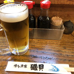 磯貝 - 生ビール