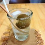 ピコスプーン - 梅ソーダ