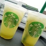 スターバックスコーヒー - ドリンク写真:ティバーナフローズンティー香る煎茶×グリーンアップル