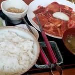 おれの焼肉 - 料理写真: