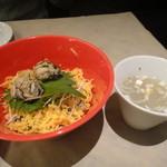 ガンボ&オイスターバー - 牡蠣スープと牡蠣飯