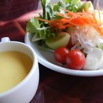 あさくま - サラダバー&コーンスープ