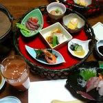 山里波 - お刺身・小鉢